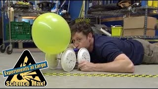 Science Max | ROCKET CAR | Kids Science | Experiments