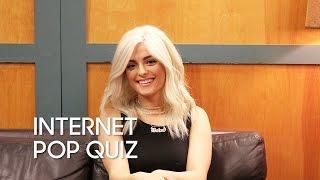 Internet Pop Quiz with Bebe Rexha