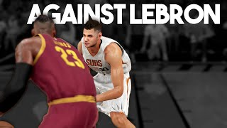 NBA 2K16 My Career Against Lebron James!