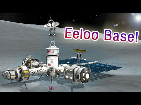 KSP Building a Single Launch Eeloo Base