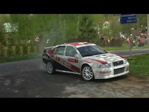 Kahle/Doerr Skoda Octavia WRC Rally Luzicke Hory 2010