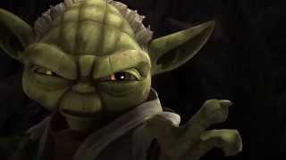 Star Wars: The Clone Wars - Yoda Vs. Dark Yoda [1080p]