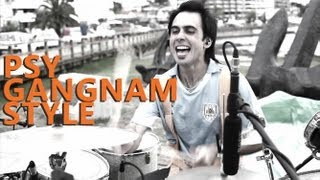 """Gangnam Style Drum Cover - Psy - Fede Rabaquino """"Outdoor Series"""""""