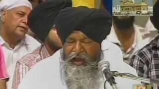 Jehva Ek Kawan Gun Kahiae - Bhai Nirmal Singh Ji Khalsa and Jatha (May 17, 2011)