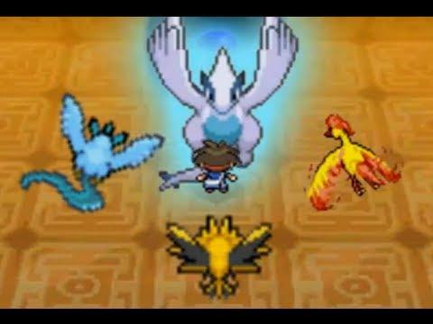Pokémon Black 2 White 2 Walkthrough Catching Lugia in Abyssal Ruins Secret Legendary Spoof
