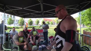 HOLLAND STRONGMAN 2015  naked bodies behind scenes