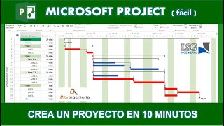 Ms Project 2013 - Crea un Proyecto en 10 minutos