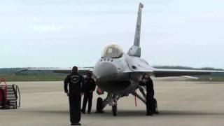 Must see: F-16 engine start & pre-flight