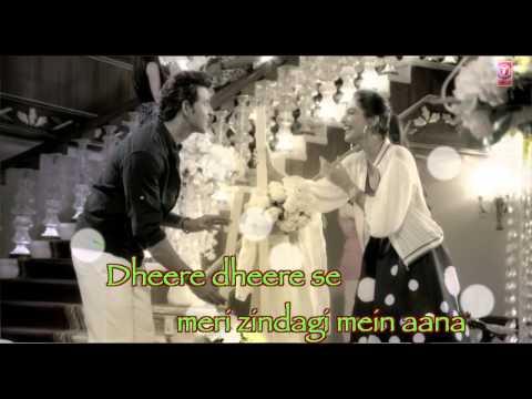 Dheere Dheere Se Meri Zindagi Video Song with lyrics editing by shankar