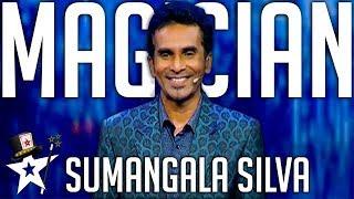 Card Illusionist Wows Judges on Sri Lanka