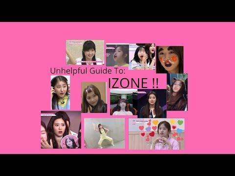 Unhelpful Guide to IZONE