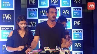 Arjun Rampal | Soha Ali Khan And TV Celebs At Special Screening Of 'Blue Planet 2' | YOYO TV Hindi