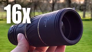 16x52 HD 16x Magnification Zoom Monocular by ARCHEER review