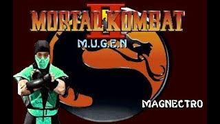 Mortal Kombat II (MUGEN) - Magnectro Playthrough