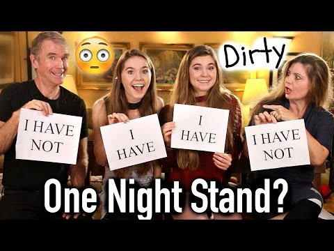 DIRTY Never Have I Ever ft PARENTS - Nina and Randa