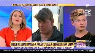 Mama lui Valentin, doamna Aura Piţigoi: Eu cu ce să-l ajut? Că nici n-am unde să stau