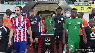 NIGERIA B VS ATLETICO DE MADRID HD