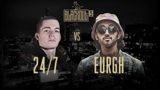 KOTD - Rap Battle - 24/7 vs Eurgh | #Blackout5