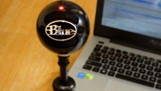 Blue Snowball - Mic Test (Voice & Instrument)