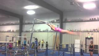 Girls flipping