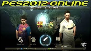 PES 2012 Online - Barcelona vs Real Madrid
