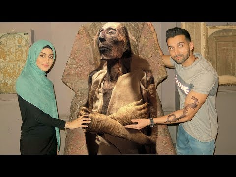 THE MUMMY of PHARAOH in EGYPT