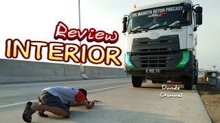 Review Singkat Interior & Panel UD Trucks Quester CWE280 6x4 (Truck Mixer)