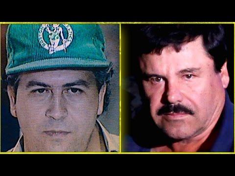 Pablo Escobar Vs. El Chapo Guzmán Comparison Narcos Netflix