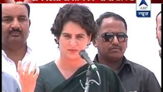 Priyanka Gandhi attacks Modi over Gujarat model