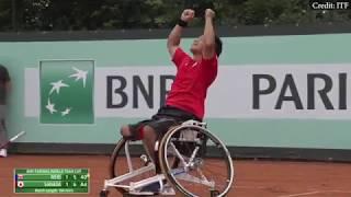 2018 BNP Paribas Wheelchair Tennis World Team Cup   Highlights