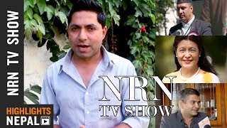 NRN TV Show Ep 80 | Report On Nepalese Lifestyle In Foreign Countries  | Rajan Ghimire