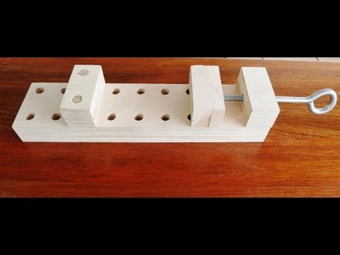 Make a wooden clamp effective and simple to make.