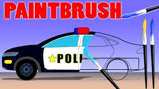 Police Car | Fire Truck | Ambulance | Coloring Book | learn colors | colors song