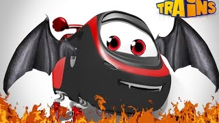 Train Cartoon / New Series for Kids / A Genius / Movies Collection for Children