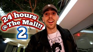 (YES!) 24 HOUR OVERNIGHT CHALLENGE AT THE MALL 2 // 24 HOUR OVERNIGHT IN THE SHOPPING MALL FORT!!