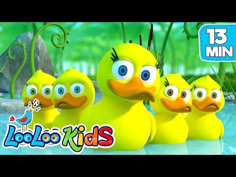 Xxx Mp4 Five Little Ducks THE BEST Songs For Children LooLoo Kids 3gp Sex