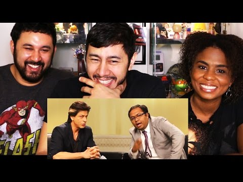 TVF's BARELY SPEAKING with ARNUB | Shah Rukh Khan | REACTION!