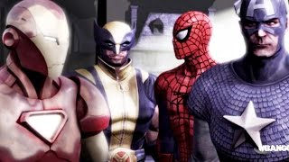 Marvel: Ultimate Alliance 2 - All Cut Scenes [CIVIL WAR] [FULL] [MOVIE]