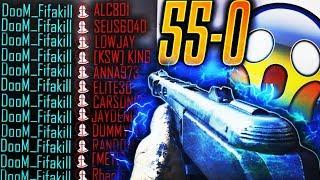 CRAZY 55-0 KILL STREAK! WW2 FLAWLESS GAMEPLAY!