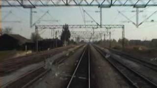 Croatian Railways - train cab ride in Slavonija (1141-389)
