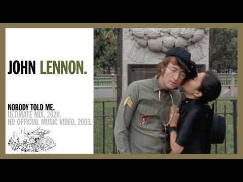Nobody Told Me - John Lennon