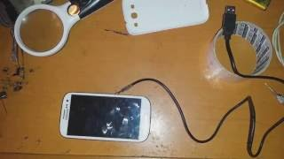 How to charge Samsung Galaxy S3 or S4 with Broken charging port !! alternative way to charge