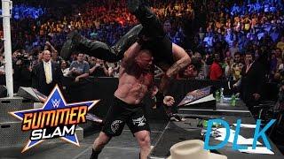 Undertaker Vs Brock Lesnar Summerslam 2015 Full Match