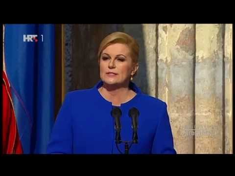 Xxx Mp4 Prisega Inauguracija Predsjednice RH Kolinde Grabar Kitarović 15 2 2015 3gp Sex