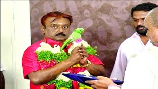 Vijayakanth Celebrates His 64th Birthday With His Family, Friends and Politicians - RedPix 24x7