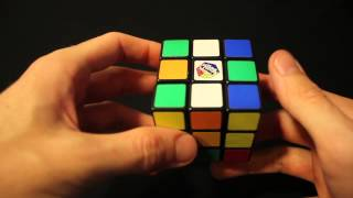 HOW TO SOLVE A RUBIK'S CUBE (Layer 1)