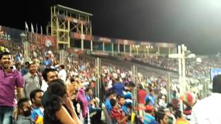 Crowd Dancing on Zingat at Cricket Ground IPL Match