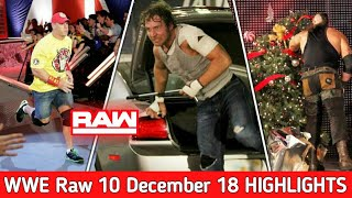 WWE Monday Night Raw 10 December 2018 Highlights ! WWE Raw 12/10/18 Highlights Preview