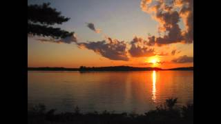 Lake of the Woods Sunset Timelapse - Red Indian Lodge