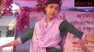 bangla dance stage show    হাই স্কুল এর সুন্দরী মেয়েদের ডেন্স পুরা লোল360p
